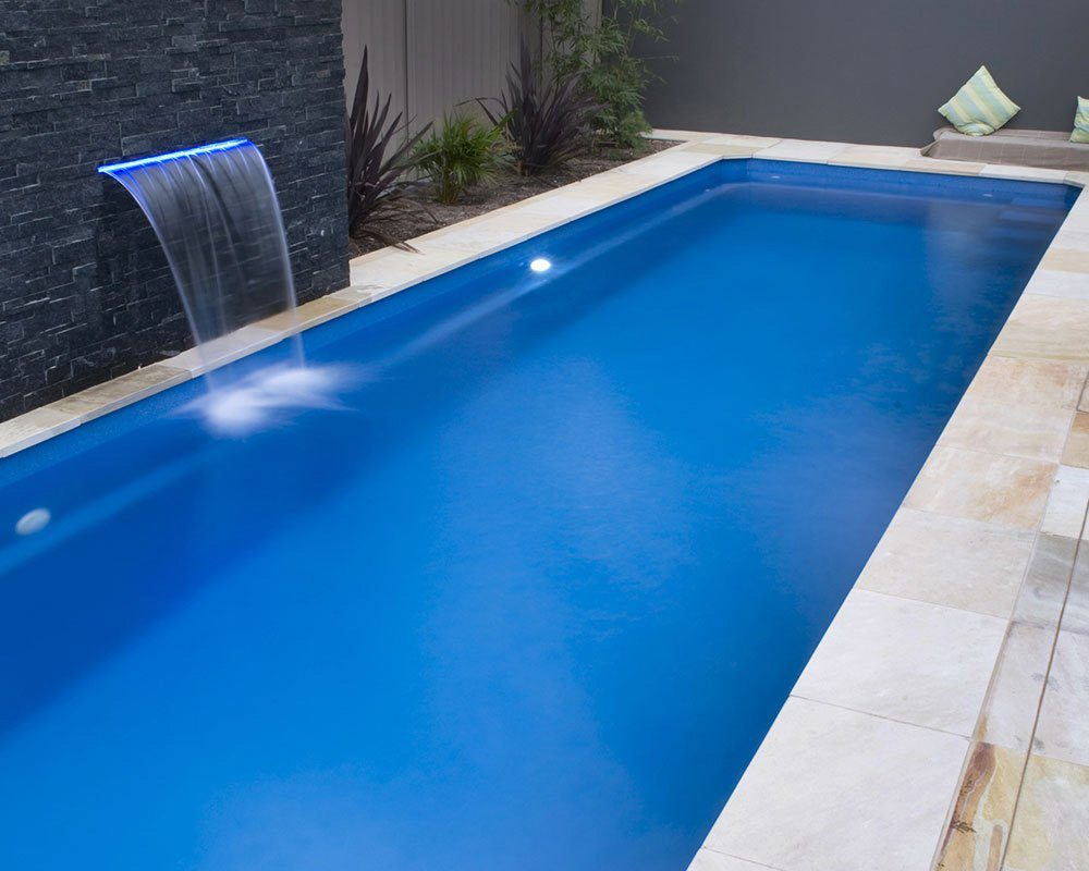 DIY Swimming Pools' Lap Pool Blue Rock Pool Design