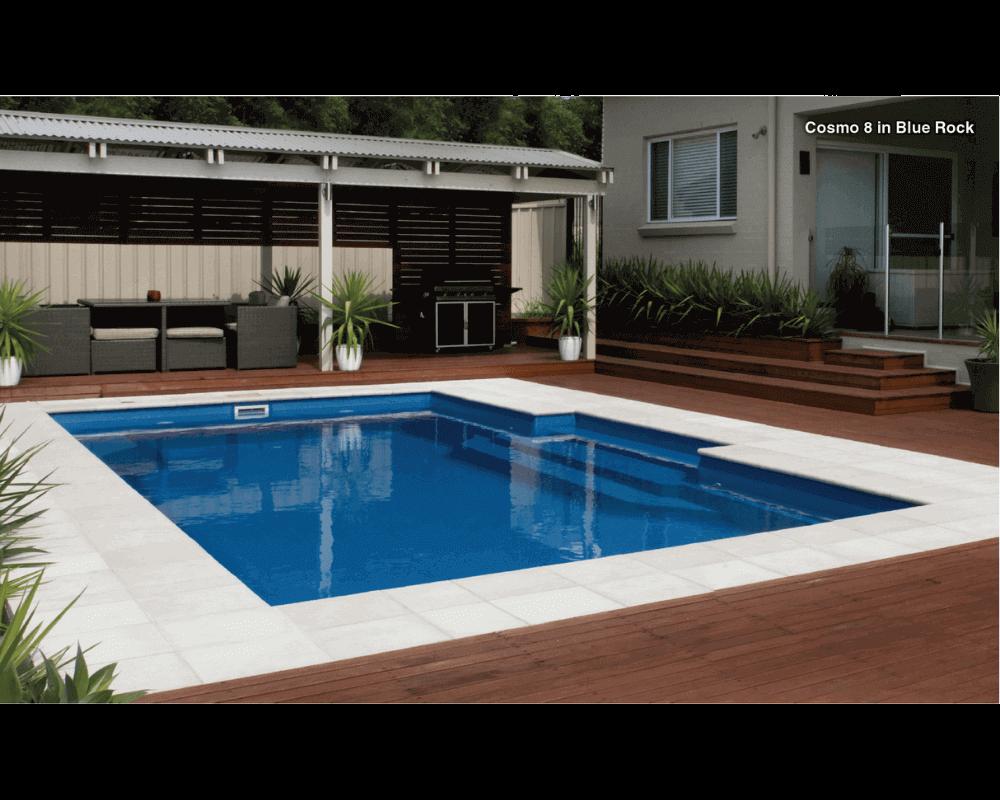 DIY Swimming Pools' Cosmo 8 Blue Rock Pool Design