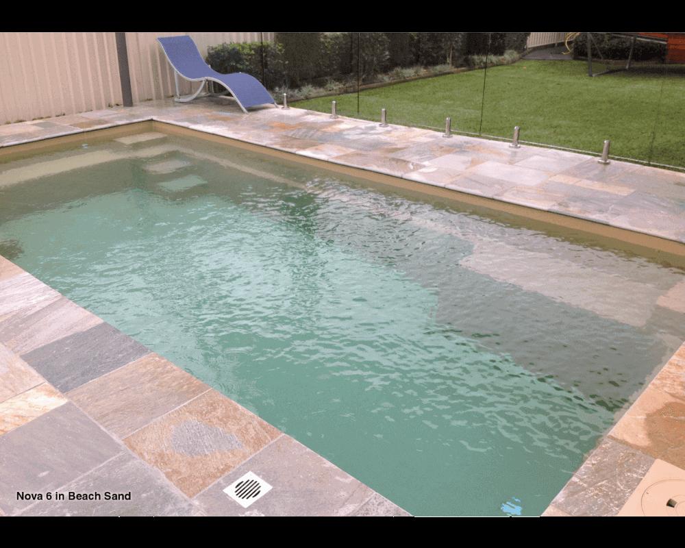 DIY Swimming Pools' Nova Beach Sand Pool Design